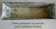 Consigue que no peguen los bizcochos al molde con este truco que comparten desde el blog COCINANDO LOS DOMINGOS.