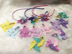 Handmade Colourful Windmill Snap Clip/alligator Clip Custom Order Welcome