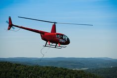 Helicopter rides in Pigeon Forge