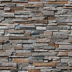 Brick Texture, Tiles Texture, Rock Siding, Stone Porches, Stone Wall Design, Stone Wallpaper, Plaster Art, Porch Columns, Stone Cladding