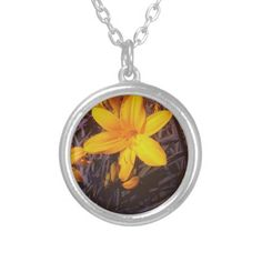 Canadian Lilly Pendants