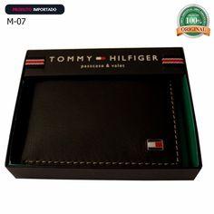 carteira masculina couro tommy e melhores marcas original