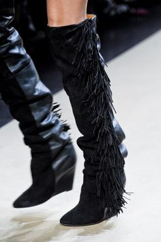 Shoe Gazing: Isabel Marant Fringe Boots