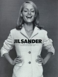 Amber Valletta for Jil Sander, photographed by Craig McDean, Fall/Winter 1995