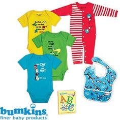 Seuss-a-Palooza Collection  Baby Gift Set - 6-piece Set  Unisex Clothing Sizes: 3 to 9 Months  Item # 306826 $39.99 @ Costco