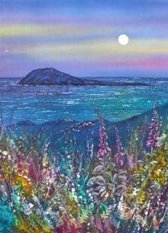 Wendy Evans --  Bardsey Blue Moon http://www.tonnau.com/product/lleuad_las_ynys_enlli_bardsey_blue_moon/