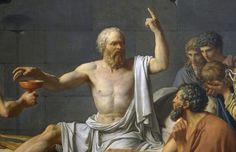 Sokrates MÖ 399'da yargıç huzuruna, mahkemeye çıkarılır. Savunma yapmadan 'Yaşadıkça ve gücüm yettikçe felsefeyle uğraşmaktan vazgeçmeyeceğim; yaşlıları ve gençleri bedenden ve paradan çok ruhlarını mükemmelleştirmeleri gerektiğine ikna etmekten kendimi alıkoymayacağım' der. Yargıçlara göre Socrates suçludur, ölümüne karar verilir. Öğrencileri ve dostları kaçmasını önerirler. Hepsini reddeder. Cezaevine atılır. Dostlarıyla son kez konuştuktan sonra bir tas baldıran zehiri içerek ölür.