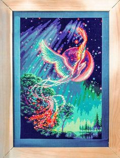 Free cross stitch pattern Phoenix                                                                                                                                                                                 More