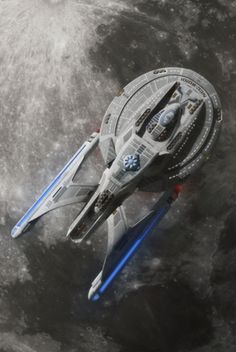 """""""Star Trek"""" Starfleet starship pictures and gifs. source-links are provided with the image whenever possible. Spaceship Art, Spaceship Design, Super Nintendo, Starfleet Ships, Starship Concept, Star Trek Starships, Sci Fi Ships, Star Wars, Star Trek Ships"""