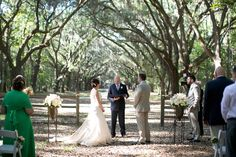Ceremony Site Oak Trees Wedding and Event Planner, Event Styling and Design, Savannah Weddings Morgan Gallo Events