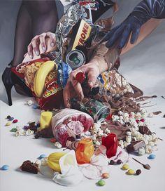 Desire | Till Rabus~ oil on canvas