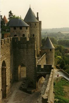 This is going to my castle when I grow up. I will live here. Carcassonne France