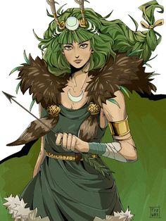 Artemis Costume, Greek Mythology Art, Albedo, Greek Gods, Gods And Goddesses, Hades, Ancient Greek, Game Art, Games