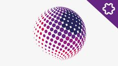 Halftone Effect Logo Design Tutorial / How to design Circle Dot in Adobe... Magazine Design Inspiration, Brochure Inspiration, Logo Design Tutorial, Graphic Design Tutorials, Dots Design, Pattern Design, Dot Logo, Adobe Illustrator Tutorials, Circle Logos