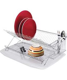 Dish Rack with Drainer (we need 33 40 two levels) Sala De fc87dafc770b