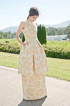 50 robes de soirée longues 2017 pour être une invitée stylée! Image: 35