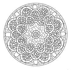Mandala 416, Mandalas zu malen