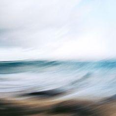 Diese Fotokunst Werkreihe Beschäftigt Sich Mit Dem Thema Wasser Und Meer.  SKY + SEASCAPES . Seaside U2013 Extreme Bewegung Des Wassers Und Der Luft, ...