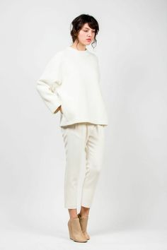 Oak Wool Sweatshirt by Studio Nicholson | #kickpleat #studionicholson