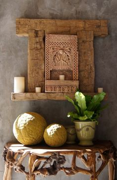 An Altar in every Space. Livingalifeinflower.com