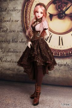 Luts Senior Delf Chloe. Such an awesome steampunk BJD!!!! XD