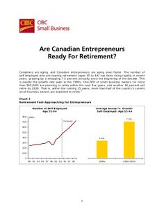 Don't overlook this.// CIBC - Are Canadian Entrepreneurs Ready For Retirement? by equicapita via slideshare Canadian Entrepreneurs, Succession Planning, Retirement Age, Interesting News, Self, Business, Retirement, Business Illustration