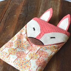 Heating bag, rice bag, fox teen girl gift by orangeandcoco $29 CLICK pic to purchase now.