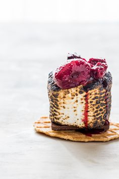 roasted berry s'more