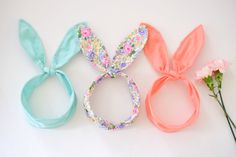 bunny ear headwraps.
