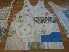 Botanical Betty Smock Apron by calamity kim, via Flickr