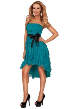 Strapless Straight Neck Gathered Ruched Empire Waist Ruffle Layers Party Dress Hot from Hollywood,http://www.amazon.com/dp/B00EUGDYBW/ref=cm_sw_r_pi_dp_f3Wvtb0KHN2XMSSP