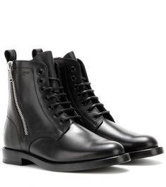 Saint Laurent - Rangers leather boots - mytheresa.com GmbH