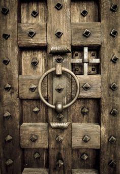 Photo wooden door