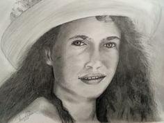 Portrait by pencil