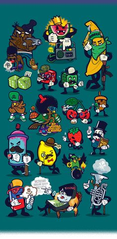 Characters on Behance                                                                                                                                                                                 Mehr