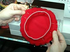Free Beret Pattern and Tutorial (from American Doll Outfitters)