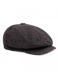 2d38859e460 Mens Striped 8 Panel Ivy Newsboy Cabbie Gatsby Beret Painter Hats Caps For  Men - Black - CD186C4WQ4L