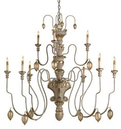 Rossetti Chandelier Lighting | Currey and Company