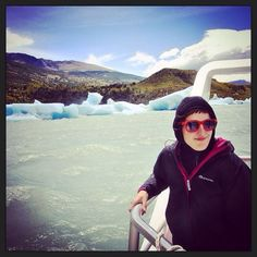 DAY 38 - Surrounded by ice on our way to the amazing Viedma Glacier, El Chalten, Argentina