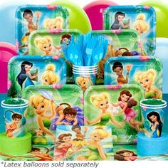 tinkerbell birthday party | Tinkerbell Birthday Box $18.99
