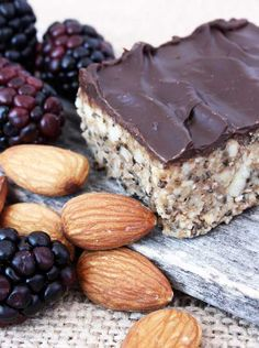 Elana's Almond Power Bars (gf, vegan, no bake)