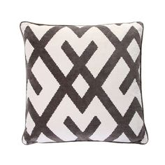 Discover the Andrew Martin Fitzroy Grey Cushion at Amara