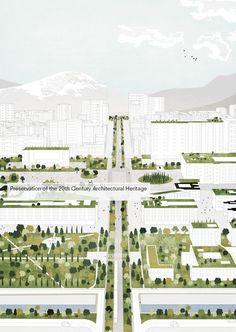 Galería de Tirana 2030: Mira cómo la naturaleza y el urbanismo coexistirán en la capital albanesa - 4
