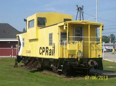 The Old CP Caboose on Display in Mactier Railway Museum, Ontario, Trains, Old Things, Display, Cars, Photos, Floor Space, Pictures