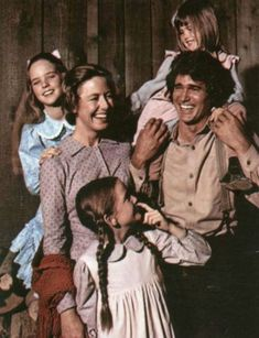 Little House on the Prairie. This makes me feel a bit sad because I used to watch it with my gran. :')