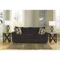Brogain Sofa in Ebony   Nebraska Furniture Mart