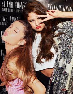 ♥️queens Ariana & Selena
