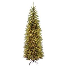 Inviting holiday cheer to your home, this faux Kingswood fir tree highlights your family's heirloom ornaments, handmade garlands, and carefully wrapped prese...