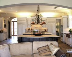 Spaces Open Concept Kitchen Living Room Design, Pictures, Remodel, Decor and Ideas - page 13