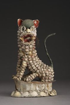 Rare and Curious Archimboldesque Shell Figure ;mid 18thC